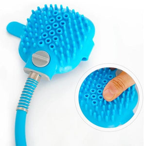 BrushClean - Shampoo Lather Glove Pet Bath Hose
