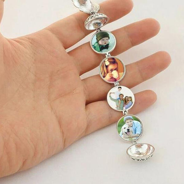 Evelyn - Expandable Photo Locket Necklace