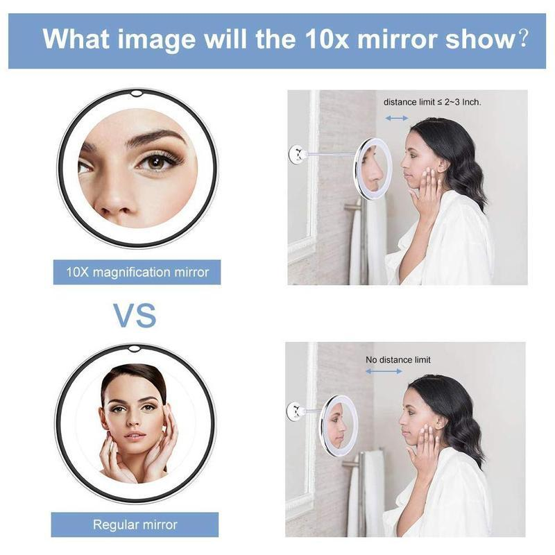 BeautyFlex 360 Flex LED Mirror