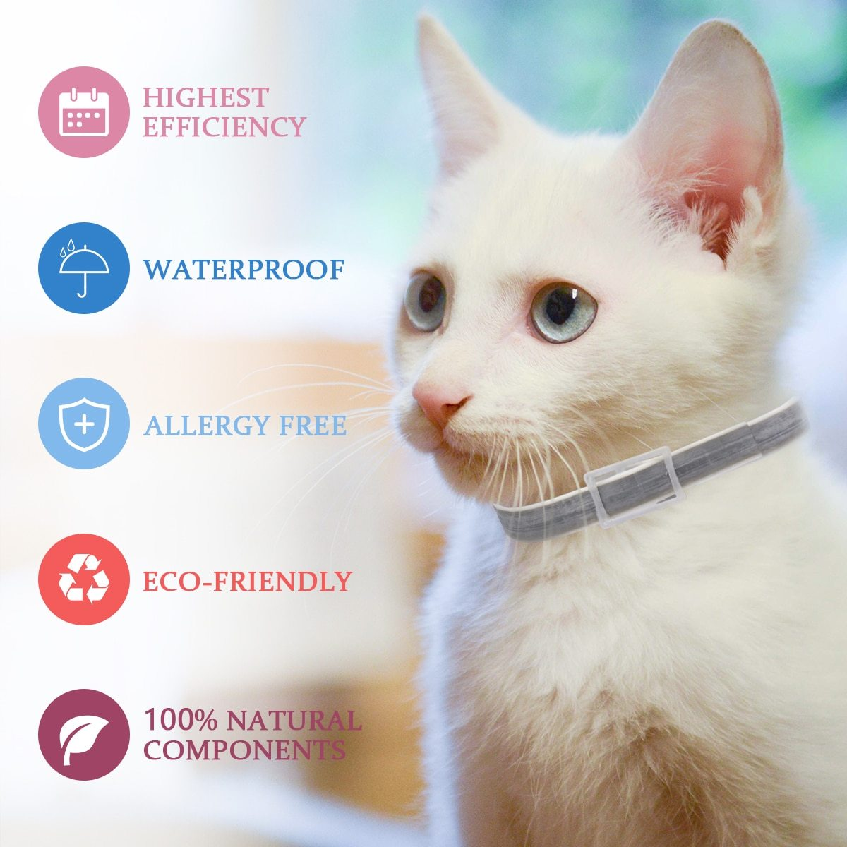 PRO GUARD FLEA AND TICK COLLAR FOR DOGS AND CATS