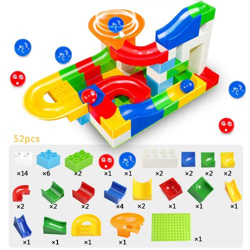 Marble Race Maze Track Toy