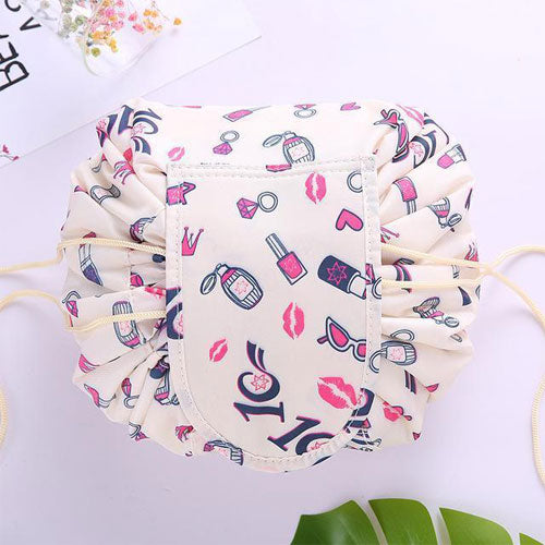 (Hot selling 50% OFF TODAY) Lazy Drawstring Quick Makeup Bag