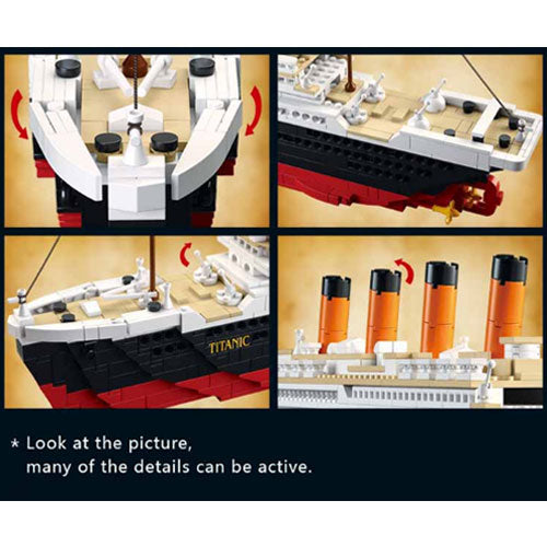 DIY Titanic Toy Building Kit