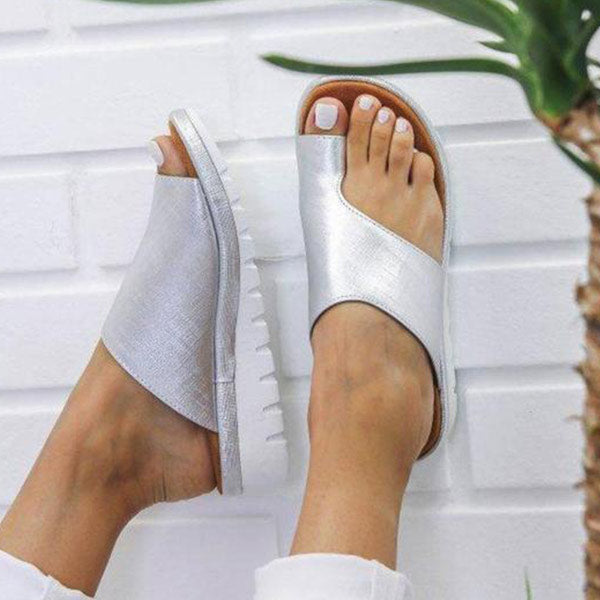 Women Comfy Big Toe Bunion Corrector Sandal Shoes