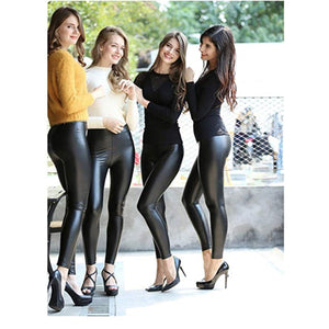 High Waist Liquid Leggings - All Sizes up to 5XL (Tummy Control)