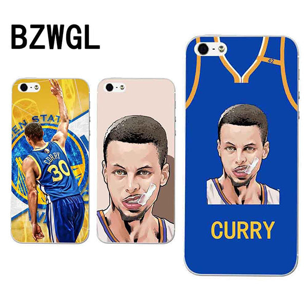 Golden State Warriors Iphone 5 5s 6 6s 7 8 plus X 6plus SOFT Transparent case