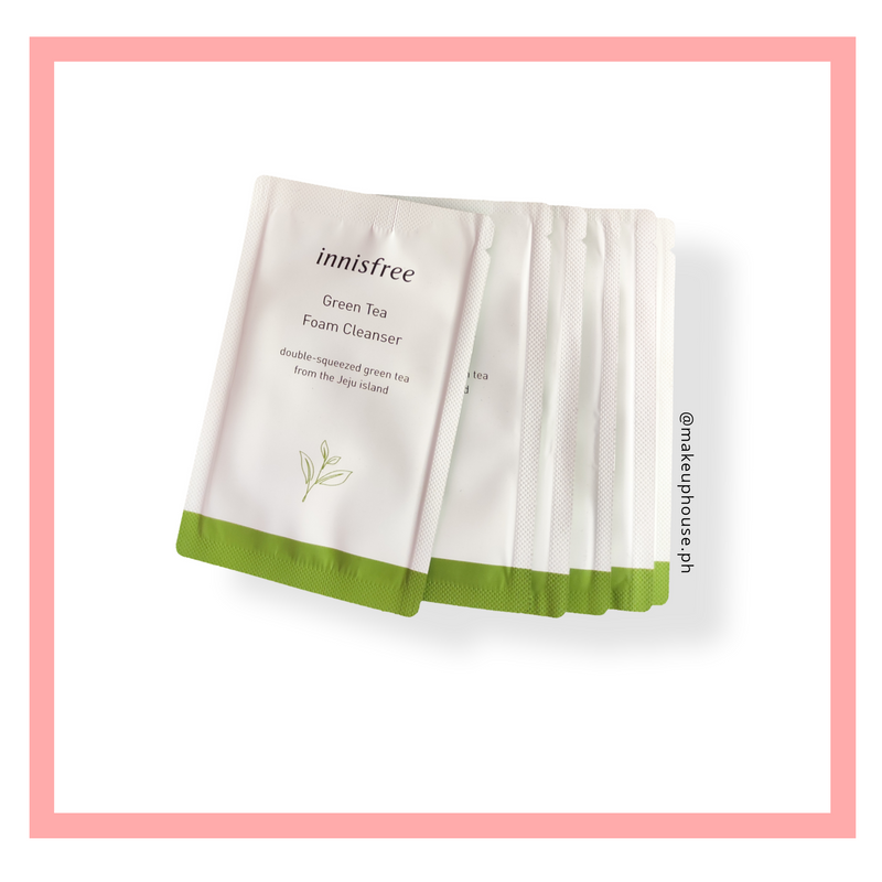INNISFREE Green tea Foam Cleanser - Sampler