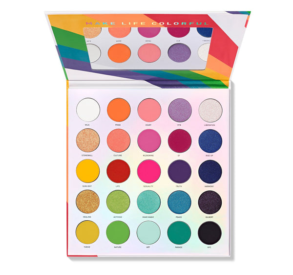 25L Live in Color Artistry Eyeshadow Palette