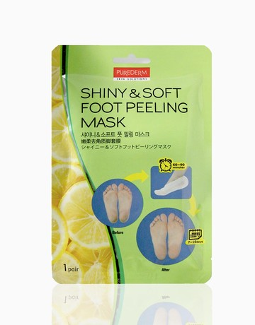 Shiny & Soft Foot Peeling Mask