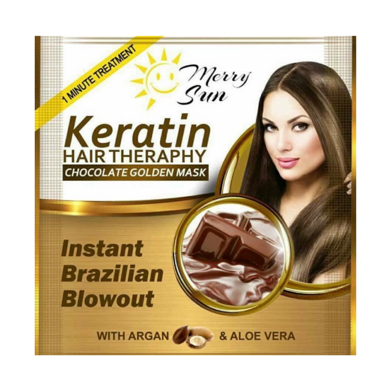 Chocolate Golden Mask Keratin Hair Therapy