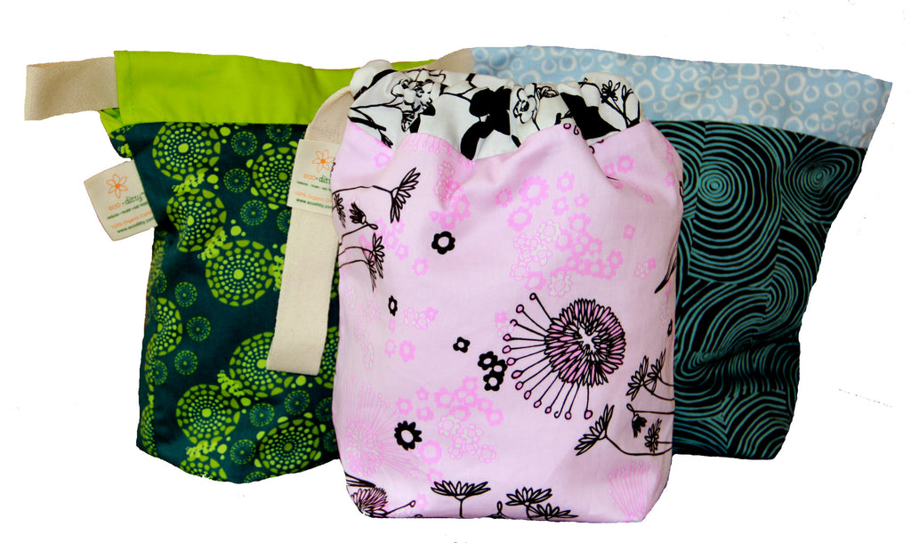 Reusable Lunch Bags Organic Cotton