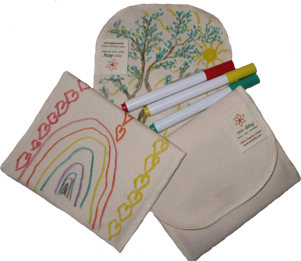 Reusable Snack Bag: Color-Your-Own