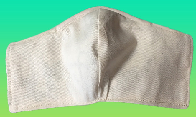 Cloth Face Mask  Liner- Organic Cotton