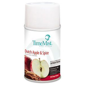 METERED AIR FRESHNER, DUTCH APPLE & SPICE, 7.6 OZ, 12/CASE