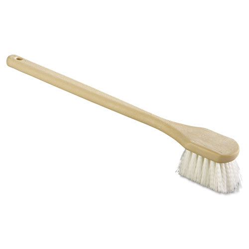 "20"" TAMPICO BRUSH, WHITE"
