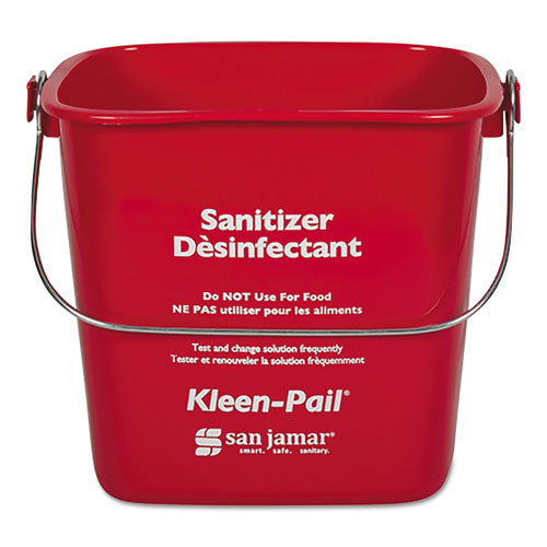Kleen-Pail, 4 Quart, Red
