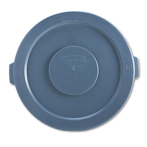 BRUTE ROUND FLAT TOP LID, FITS 32 GALLON CONTAINERS