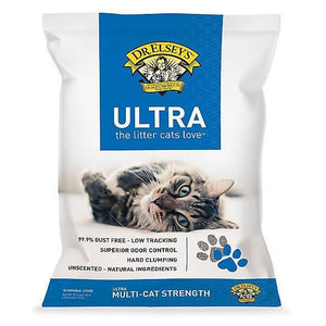 Precious Cat Ultra Scoopable Cat Litter - Multi-Cat