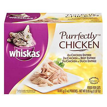 WHISKAS® Perfectly Chicken Variety Pack Cat Food