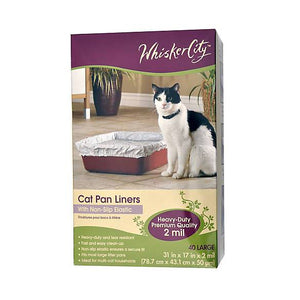Whisker City® Cat Pan Liner