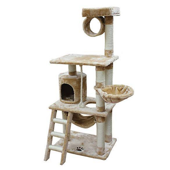 Kitty Mansions Boston Cat Tree