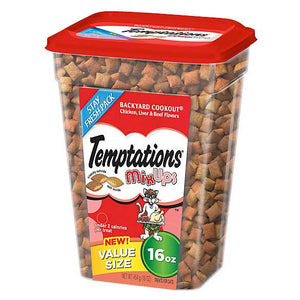 Temptations™ Mix Ups Backyard Cookout Cat Treat - Chicken, Liver & Beef