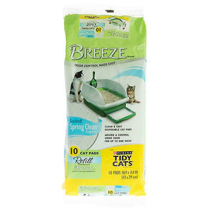 Purina® TIDY CATS® BREEZE® Scented Litter Box Pads
