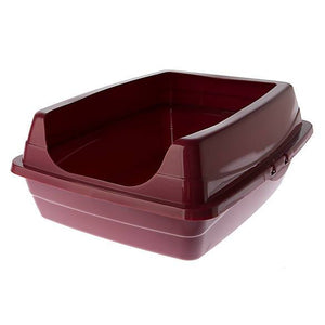 Grreat Choice® Open Rim Litter Pan