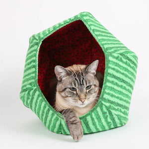 Watermelon Cat Ball Cat Bed