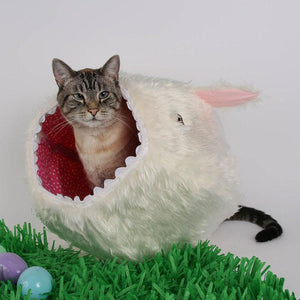 Harmless Little Bunny Cat Ball Cat Bed