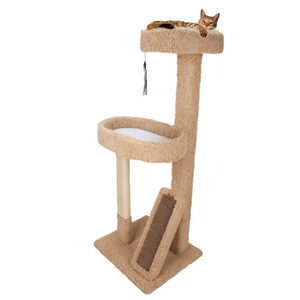 Whisker City Lounge Cat Scratcher