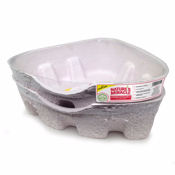 Nature's Miracle® Corner Disposable Cat Litter Box