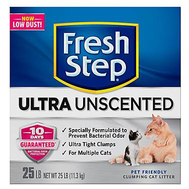 Fresh Step® Ultra Unscented Cat Litter - Clumping