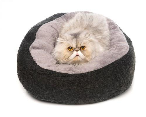 ALL FOR PAWS CAT BED CATZILLA MELLOW BLACK
