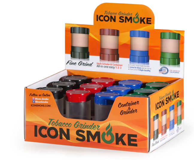 Get your ICON SMOKE Grinder today!