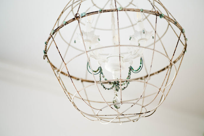 DIY Gemstone Chandelier - For $20!