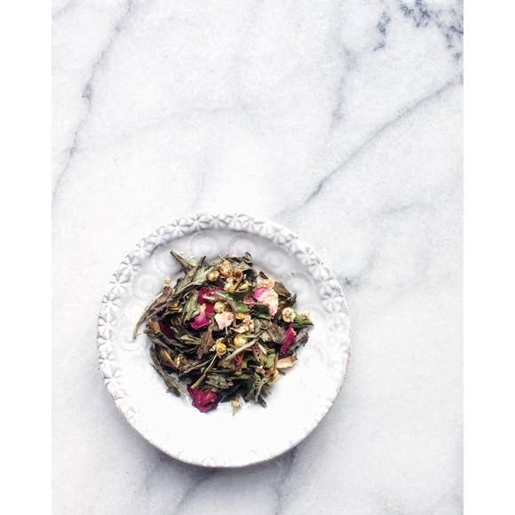 Rose + Chamomile White Tea