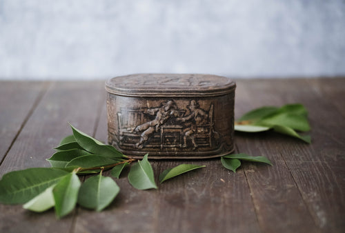 Embossed Metal Container - Old Grace Gathering Co.