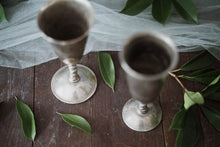 Load image into Gallery viewer, Silver Toasting Goblets - Old Grace Gathering Co.