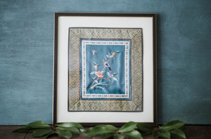 Antique Chinese Silk Needlepoint