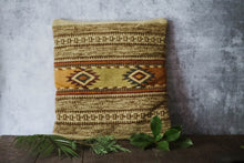 Load image into Gallery viewer, Wool Kilim Pillow - Old Grace Gathering Co.