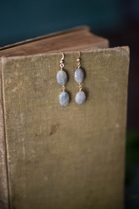 Double Labradorite Earrings - Old Grace Gathering Co.