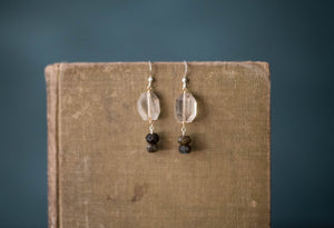 Quartz, Labradorite, Gold Filled + Sterling Earrings - Old Grace Gathering Co.