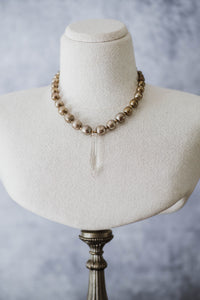 Chandelier Point Necklace - Old Grace Gathering Co.