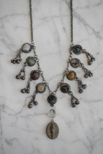 Load image into Gallery viewer, Gemstone Fringe Necklace - Old Grace Gathering Co.