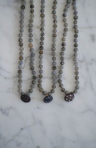 Labradorite Choker/Wrap Bracelets - Old Grace Gathering Co.