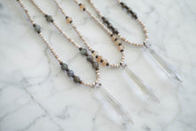 Load image into Gallery viewer, Chandelier Crystal Point Necklaces - Old Grace Gathering Co.