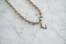Load image into Gallery viewer, African Metal + Vintage Sterling Necklace - Old Grace Gathering Co.