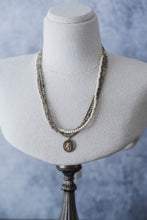 Load image into Gallery viewer, Triple Strand Gemstone Necklace - Old Grace Gathering Co.