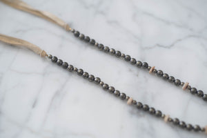 Pyrite + Chandelier Crystal Necklace - Old Grace Gathering Co.